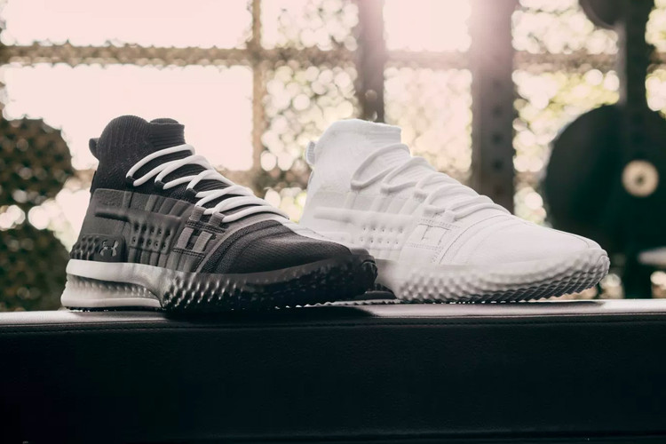 87ee84cca833 The Rock's Signature Under Armour Sneaker Receives Monochrome Makeovers