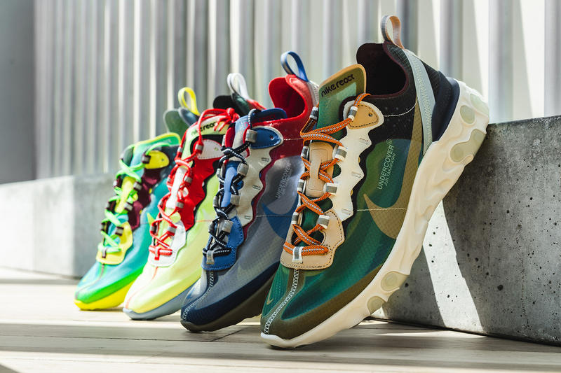 UNDERCOVER Nike React Element 87 Europe Release Details Date Footwear Shoes Kicks Trainers Sneakers Cop Purchase Buy Available Soon September 29 29th 2018 Collab Collaborations