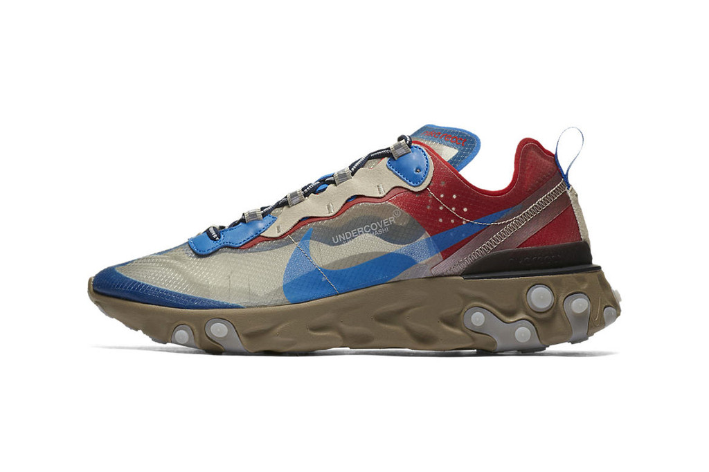 undercover x nike react element 87 official imagery has arrived