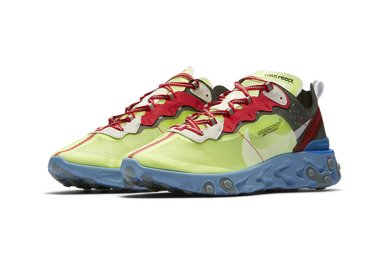 UNDERCOVER x Nike React Element 87 Official Imagery images release date info price