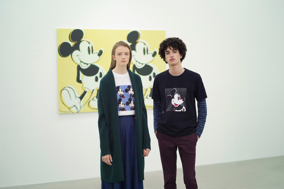e25f9d58 Uniqlo UT Teases Andy Warhol & MIckey Mouse Tees | HYPEBEAST