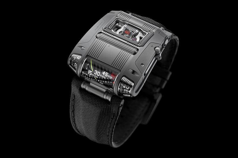 Urwerk UR-111C Timepiece  iron gunmetal watches