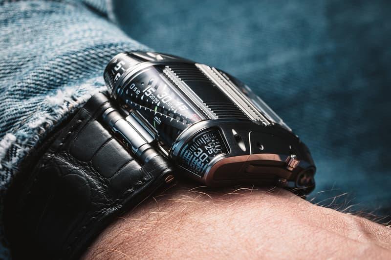 Urwerk UR-111C Timepiece  iron gunmetal watches