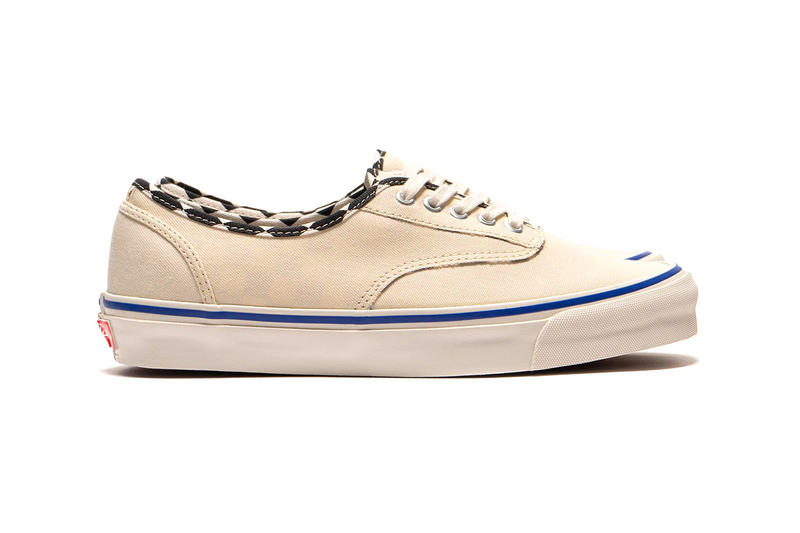 Vans Vault Inside out Pack Follow Up Beige White Blue SK8 Hi Slip On Authentic LX