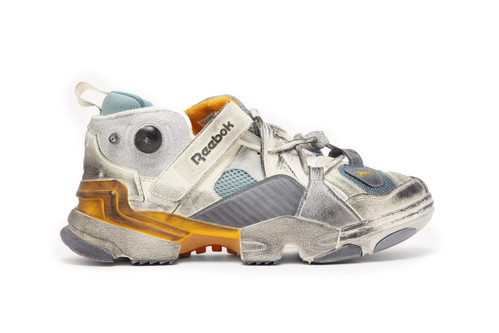 This Vetements x Reebok Genetically Modified Trainer Is Exclusive to Matchesfashion.com
