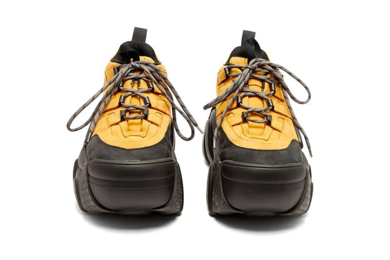 Vetements x SWEAR Suede Platform Trainer release price info purchase sneaker chunky footwear