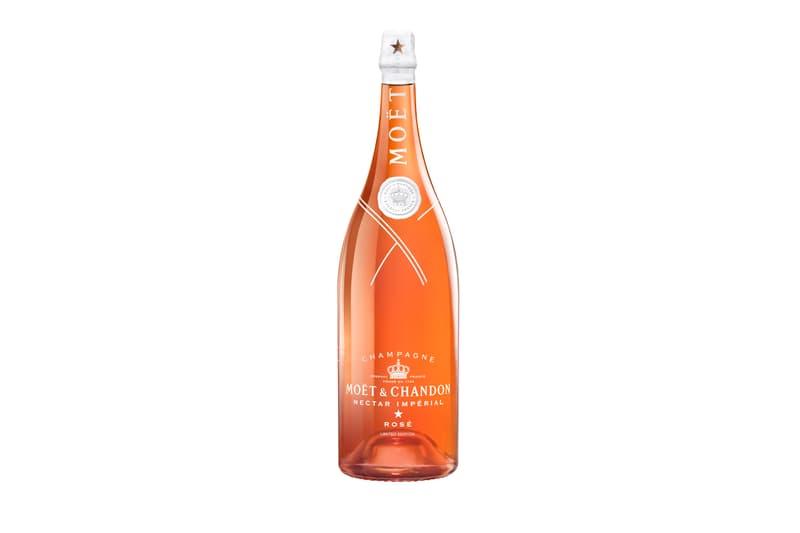 415dfd84372e Virgil Abloh Louis Vuitton Moet Chandon Collaboration Bottle Teaser  champagne LVMH Off-White Design