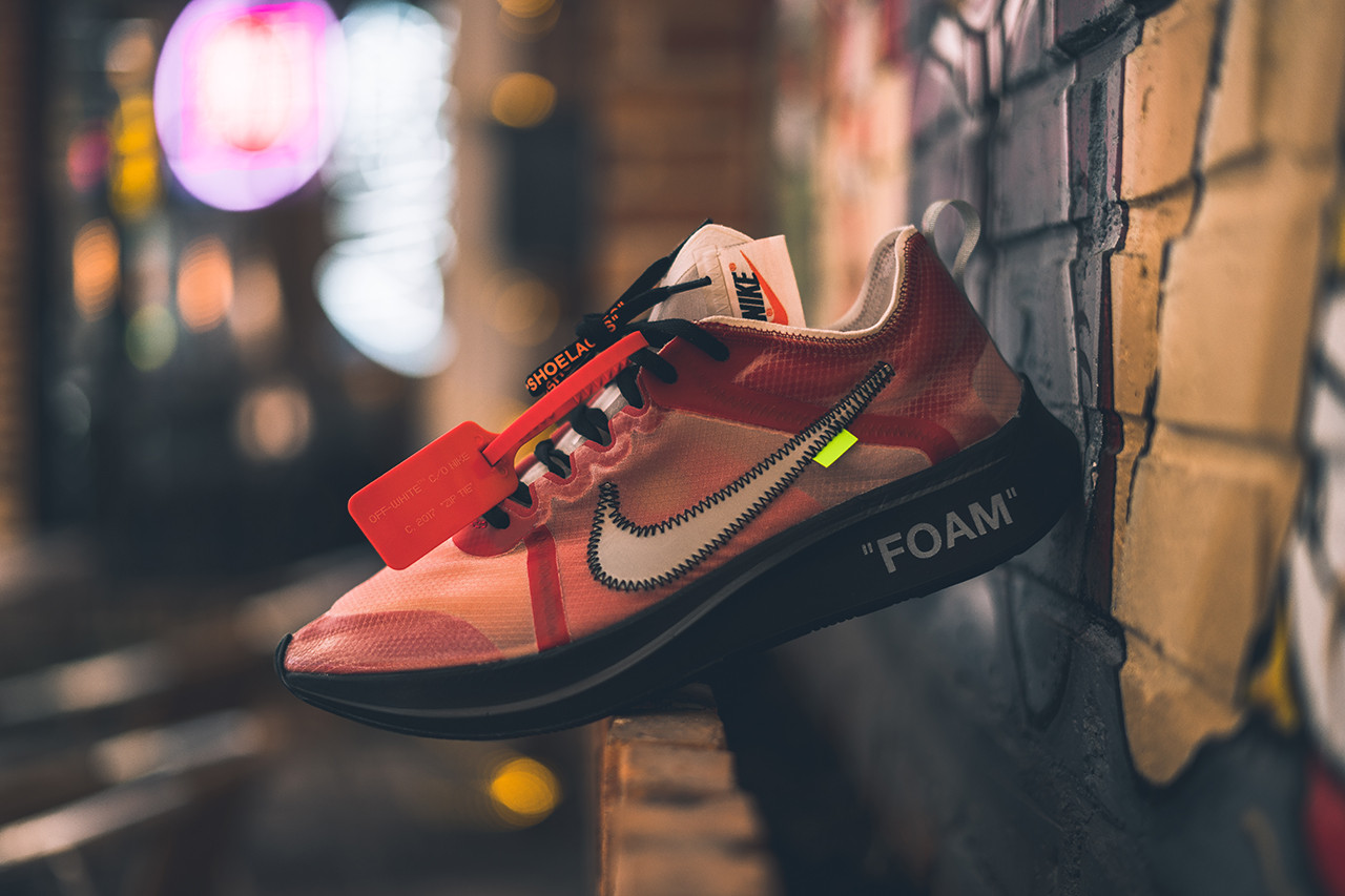 Off-White™ x Nike Zoom Fly SP Promo