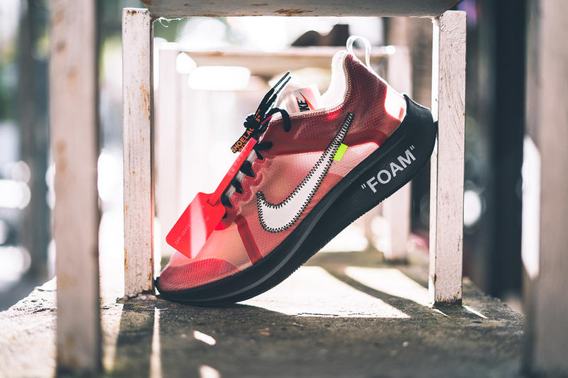 1fe97eaa5641e off white nike zoom fly sp promo order sample sneaker shoe colorway black  insole collaboration exclusive