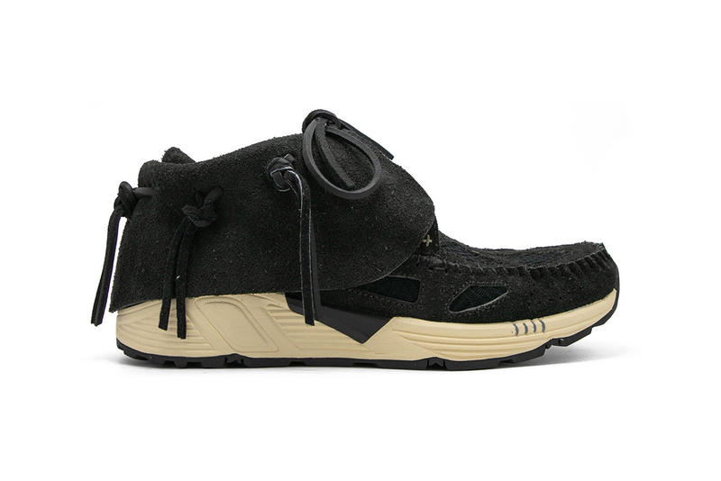 Visvim FBT Prime Runners Shoe Details Shoes Trainers Kicks Sneakers Boots Footwear Cop Purchase Buy Now Release Available silhouette running union