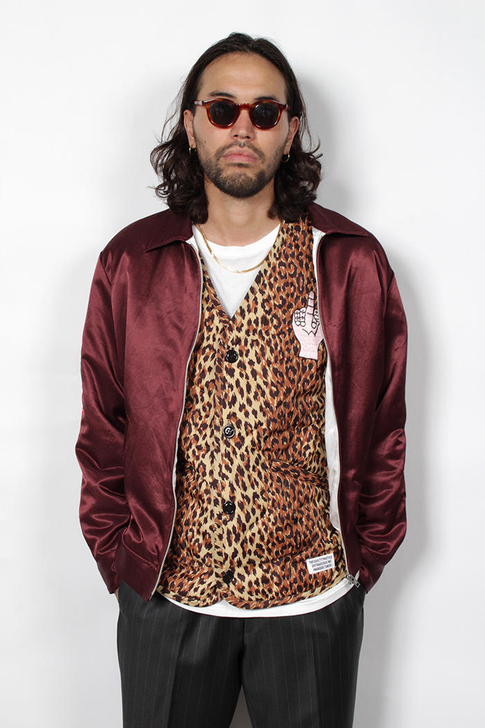 WACKO MARIA Fall Winter 2018 Collection Lookbook military leopard prints bob marley jackets sweaters pants