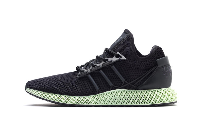 Y-3 RUNNER 4D adidas Futurecraft Yohji Yamamoto Sneaker Footwear Release  Information Trainer Design Collaboration 590d8f0db467