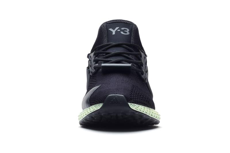 Y-3 RUNNER 4D adidas Futurecraft Yohji Yamamoto Sneaker Footwear Release Information Trainer Design Collaboration Black Green