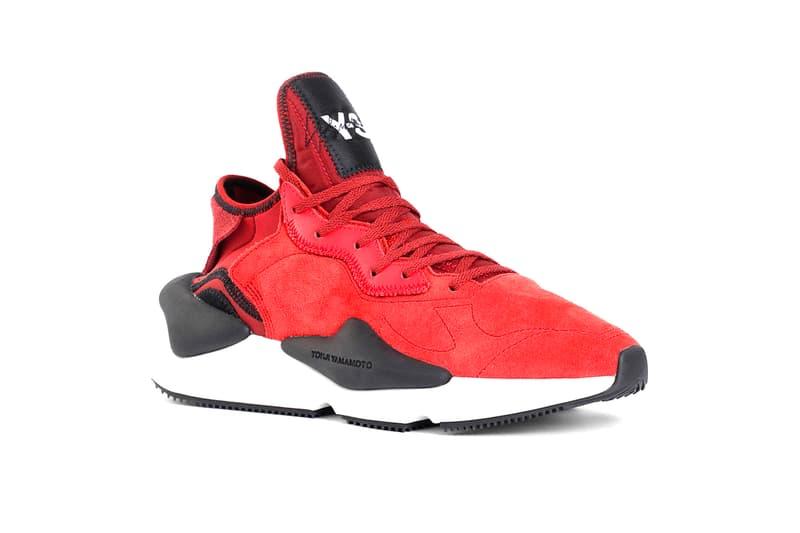 Y-3 Kaiwa Red release info sneakers yohji yamamoto