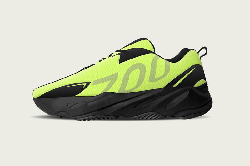 YEEZY BOOST 700 VX 6ix9ine Gift Sample Revealed Neon Green Volt Wave Runner