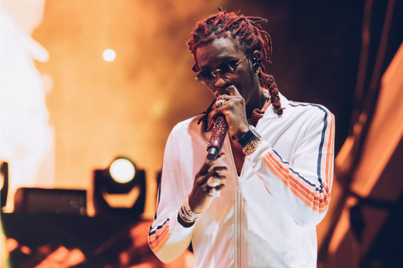 Young Thug Charged 8 Felonies