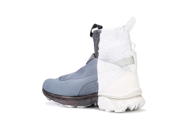 11 by boris bidjan saberi salomon high top painted sneaker runner shoe footwear fall winter 2018 drop release date white bamba BAMBA311XS BAMBA2BLACKDIP dip