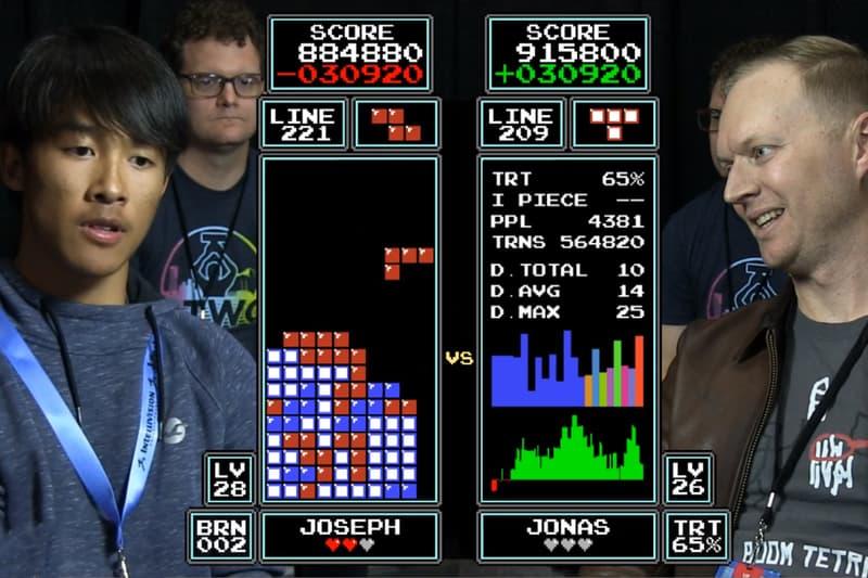 16-Year Old Jonas Neubauer Joseph Saelee 'Tetris' World Champion Nintendo World Championship Portland Retro Gaming Expo
