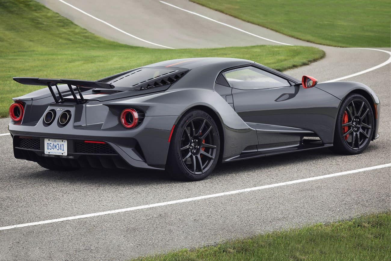 Ford Gt Carbon Series Unveil Black Grey Orange Horsepower Car Automotive Price Race Ready