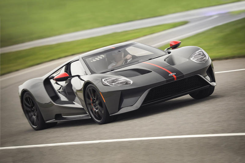 2019 Ford GT Carbon Series Unveil Black Grey orange horsepower car automotive price race-ready