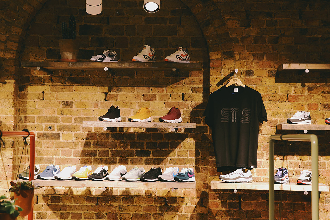 The 5 Best Independent Sneaker Stores In the UK Pam Pam Hanon Sneaker Lab Fresh Laces Sneakersnstuff Retail