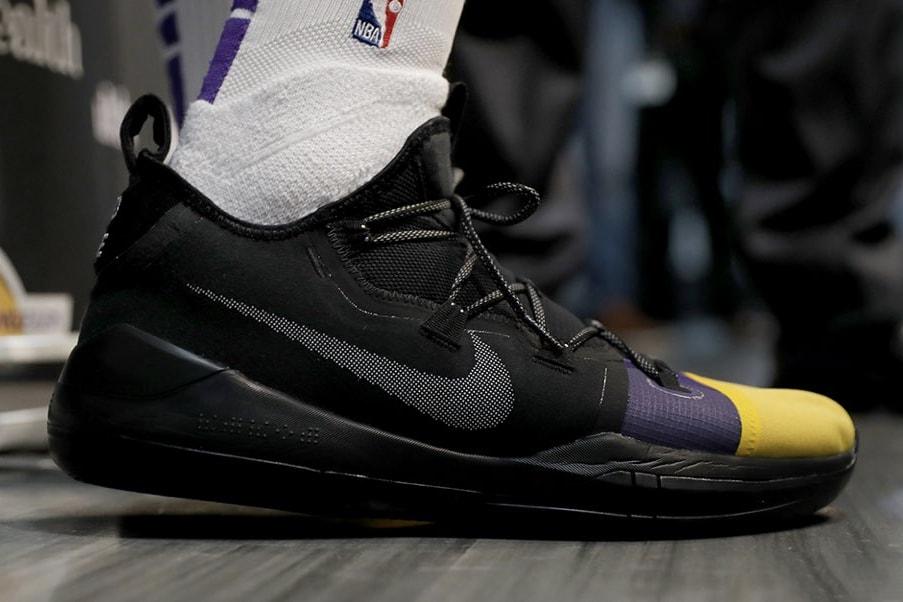 Kyle Kuzma GOAT NBA Nike Reseller Basketball Sneakers Performance Retro NPD Kyrie Irving LeBron James Kobe Bryant