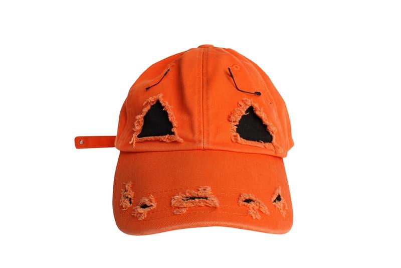 99IS Halloween Custom Cap Details 99percentis Hat Cop Purchase Buy Webstore 219 USD Pumpkin