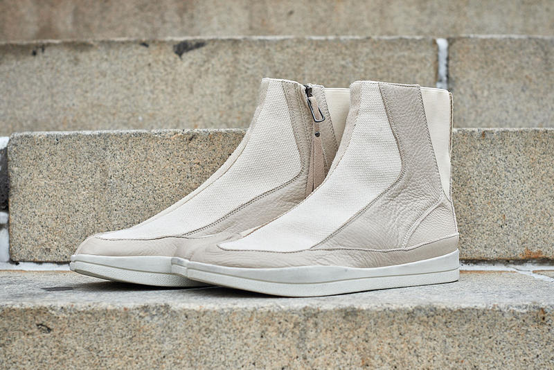Abasi Rosborough Fall Winter 2018 Tabi Boot Sneaker Release black cream white suede gum sole new york