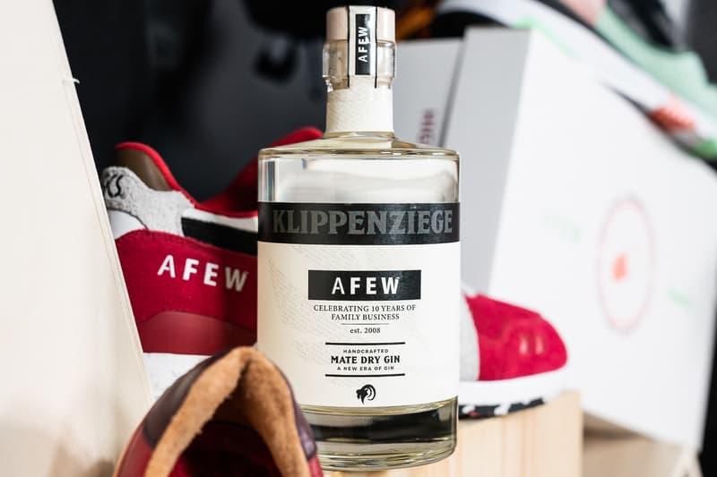 afew german germany store retailer boutique ten 10 year anniversary asics sneakers shoe sneaker shoes Diadora KangaROOS Saucony Heimplanet