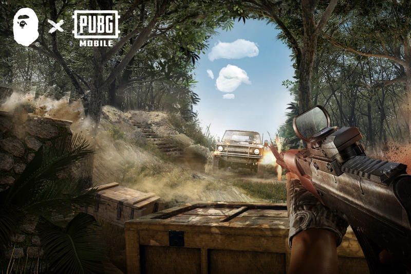 Wallpaper Playerunknown S Battlegrounds Pubg Mobile Game: Bape X 'PlayerUnknown's Battlegrounds' Collab