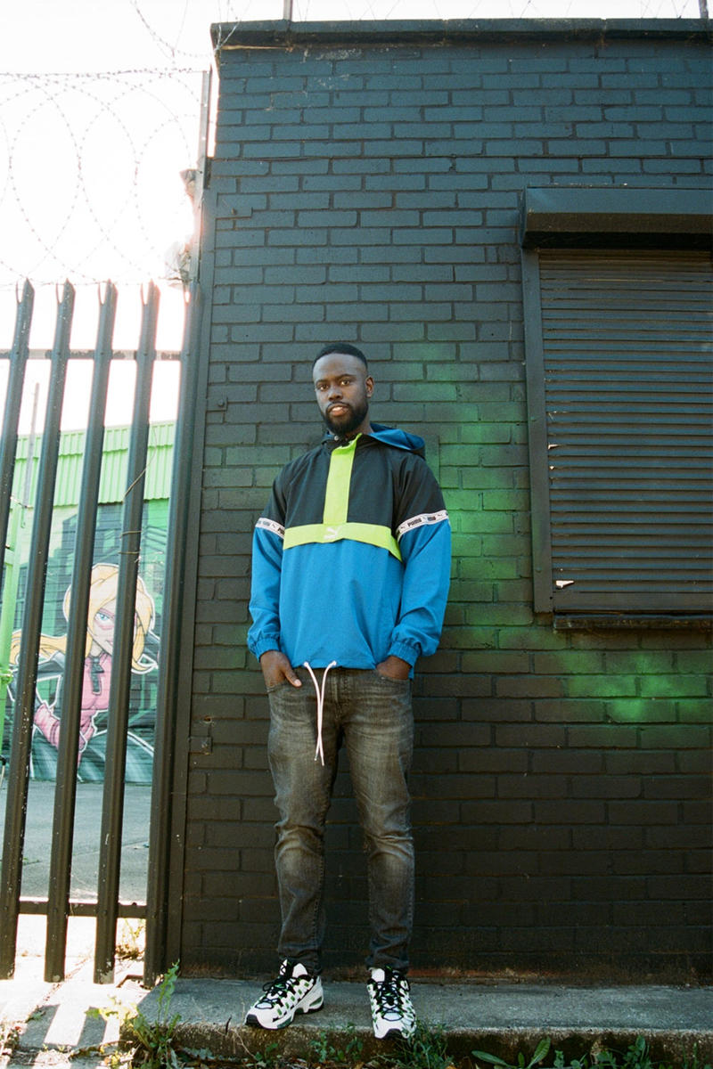 PUMA x Ghetts CELL Endura Campaign Lookbook  Grime Rapper 2018 90s Revival