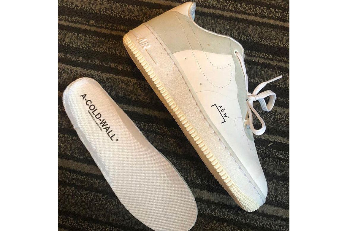 a57a3fc19e7 A-COLD-WALL* x Nike Air Force 1 Low First Look | HYPEBEAST