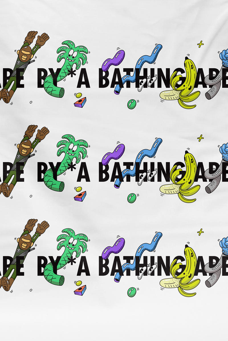 aape by a bathing ape steven harrington vinyl figure collectible sculpture apparel clothing tee t shirt fashion style streetwear collaboration