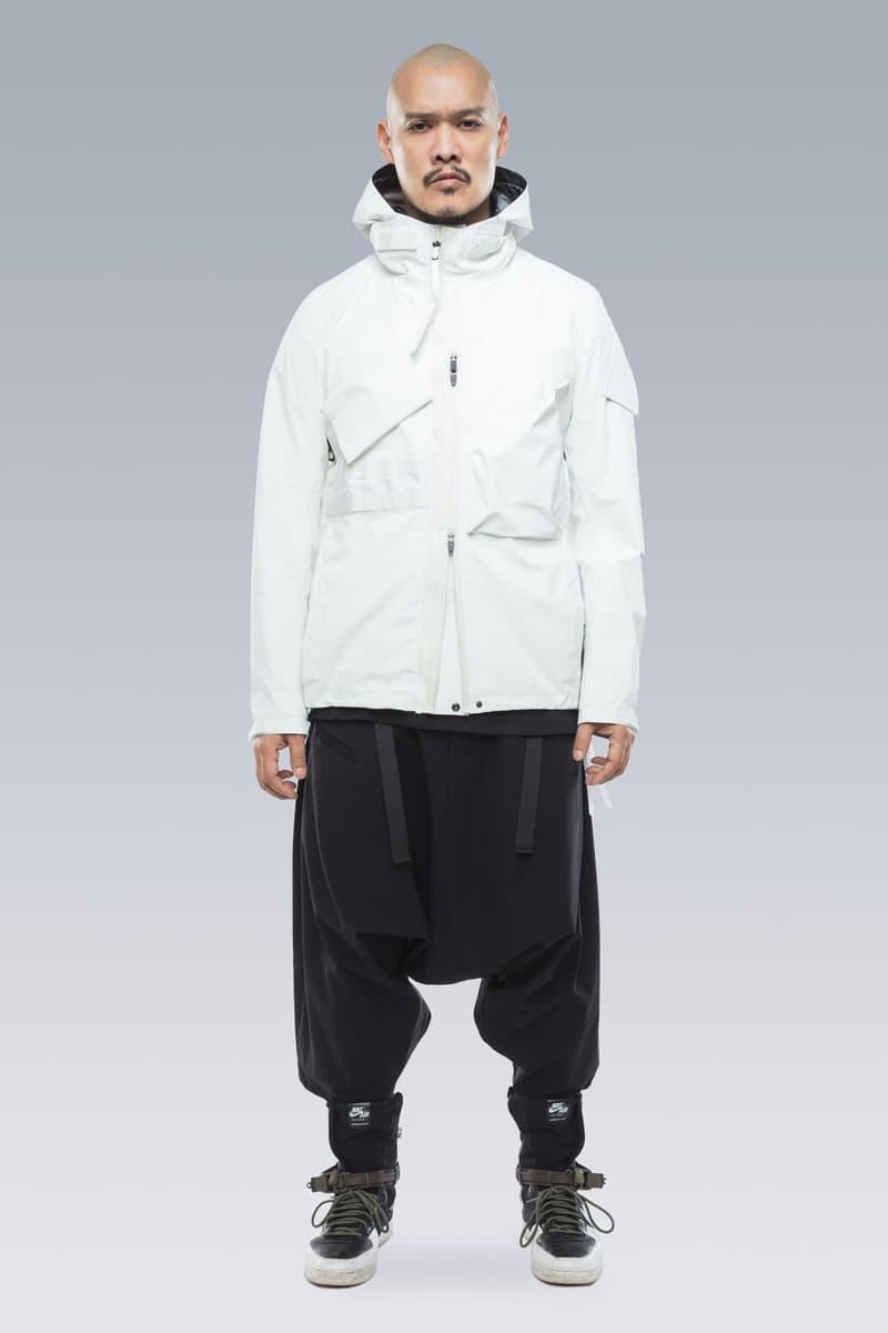 76313571d47 ACRONYM Fall Winter 2019 Lookbook Collection Errolson Hugh Jackets Pants  Bags Gt J Gore Tex