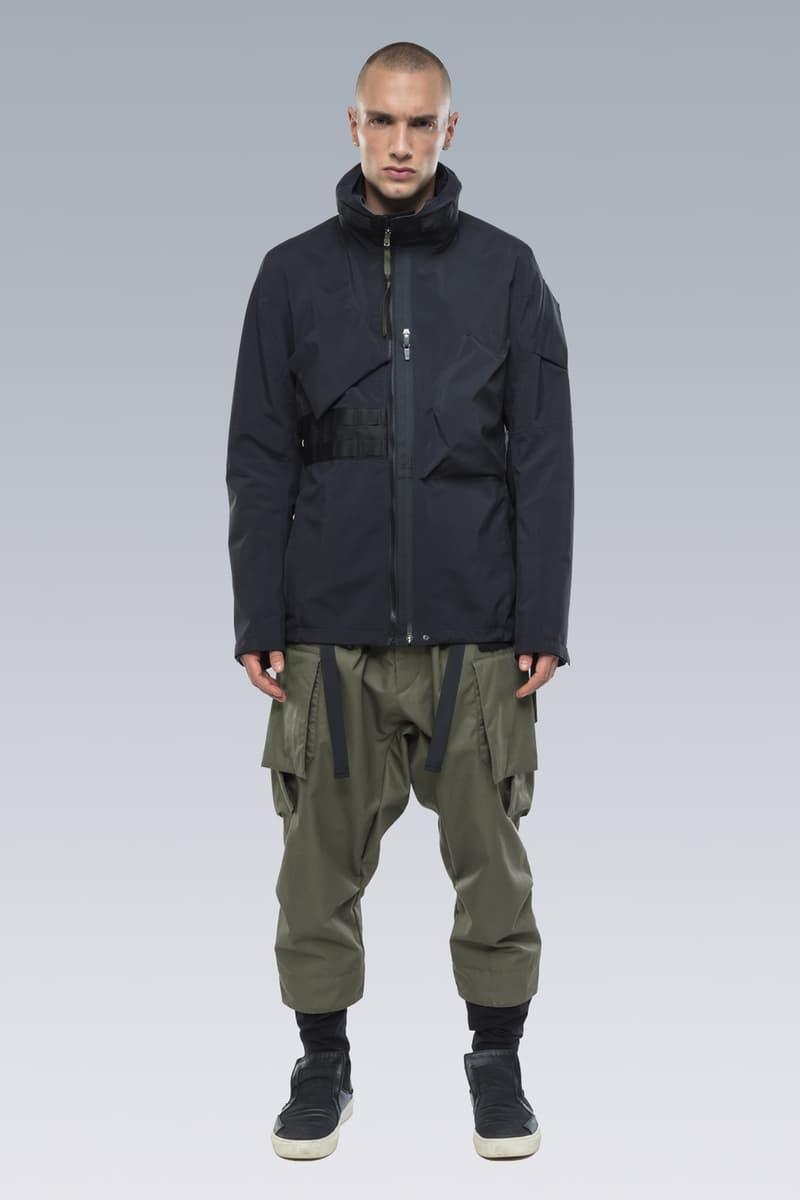 ACRONYM Fall Winter 2019 Lookbook Collection Errolson Hugh Jackets Pants Bags Gt J Gore Tex