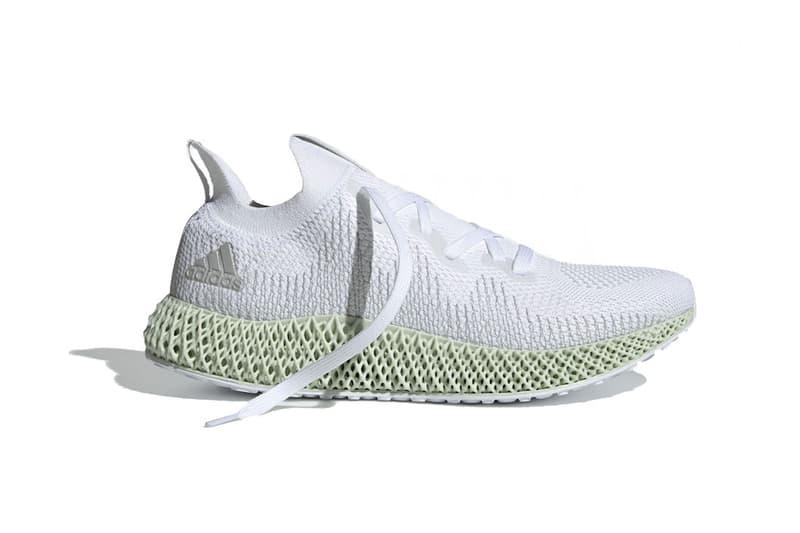 28e633d277a38 adidas alphaedge 4d white grey 2018 footwear. 1 of 3. Sneaker Bar Detroit