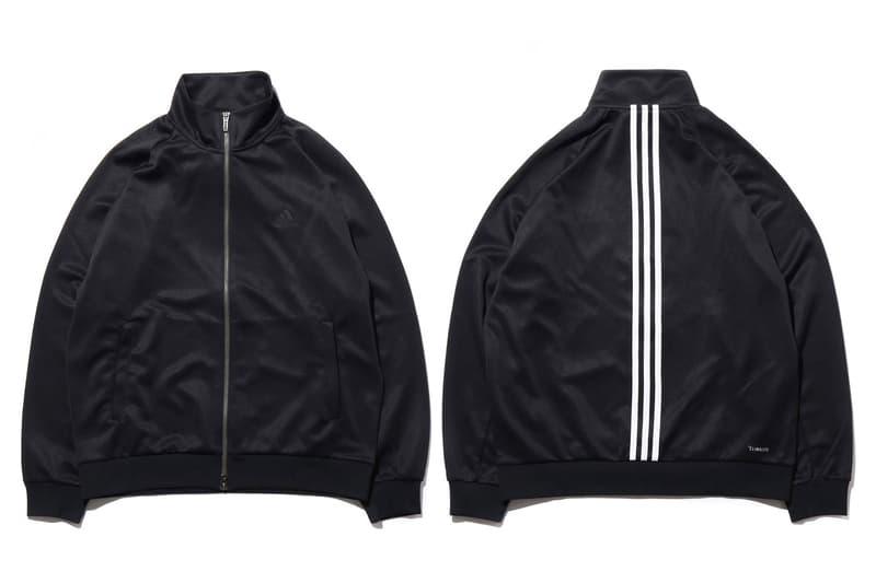 adidas Athletics atmos Fall Winter 2018 fw18 jackets pants black outerwear