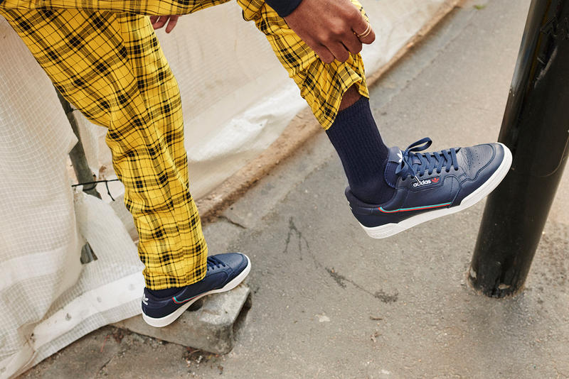 adidas Continental 80 Four New Essential Colorways Details Release Date Details Cop Purchase Buy Lookbook Campaign maroon grey navy yellow Yeezy Powerphase Boost Archive Vintage Stripe