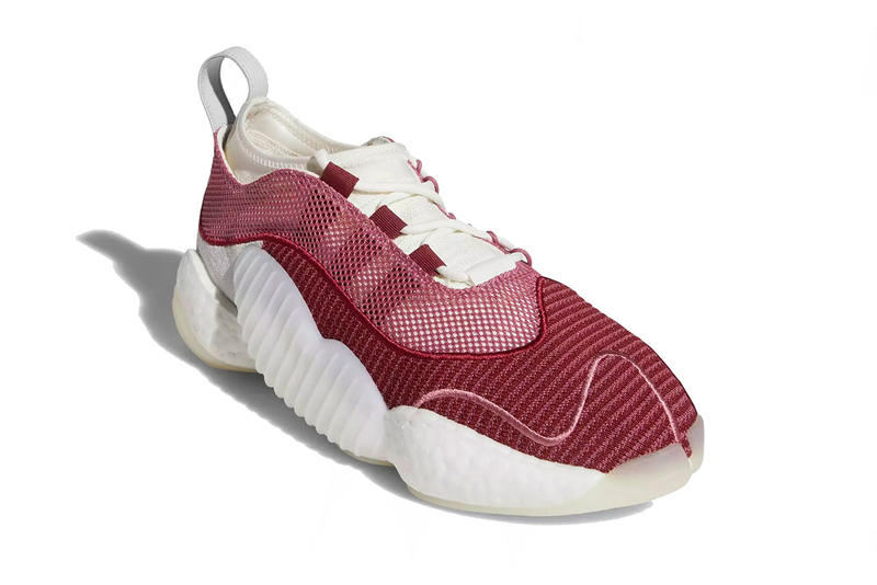 finest selection a3980 a418b adidas crazy byw lvl 2 trace maroon running white clear orange 2018 footwear