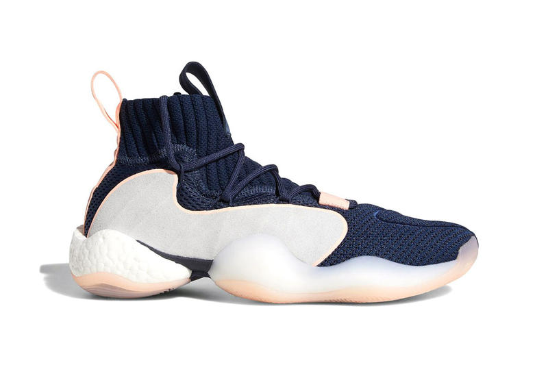 adidas crazy byw lvl x adidas hoops john wall brandon ingram black white blue navy salmon grey white 2018 november footwear