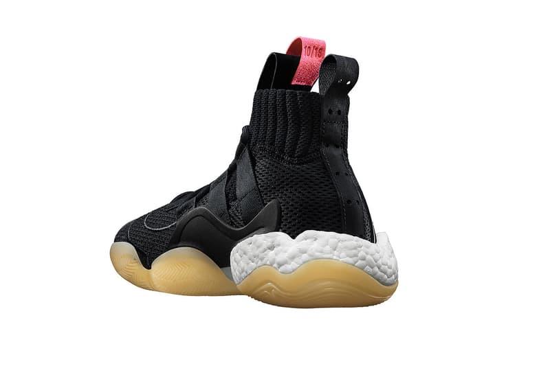 adidas crazy byw x black white gum 2018 november footwear