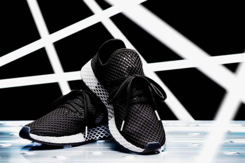 adidas kicks lab core black running white deerupt runner fall winter 2018 october new sneakers