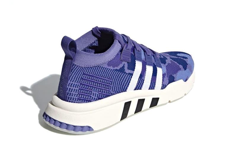 """adidas EQT Support Mid ADV """"Purple Camo"""""""