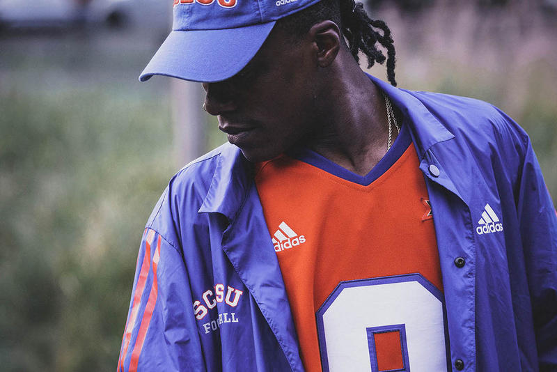 adidas Football 20th Anniversary adam sandler The Waterboy 2018 SCLSU Capsule Collection Collab Collaboration Cop Purchase Buy drop release date info bobby boucher South Central Louisiana State University october 18 19 2018 bobby boucher water bottle jersey coaches varsity jacket hat cap riddell helmet