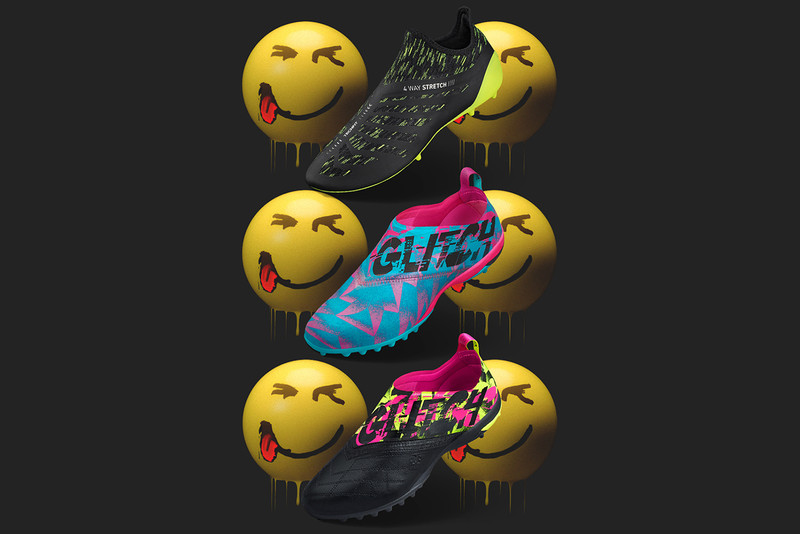 "3cb889c2a470eb adidas Football Channels  90s Club Scenes for New GLITCH ""Mad"" Pack"