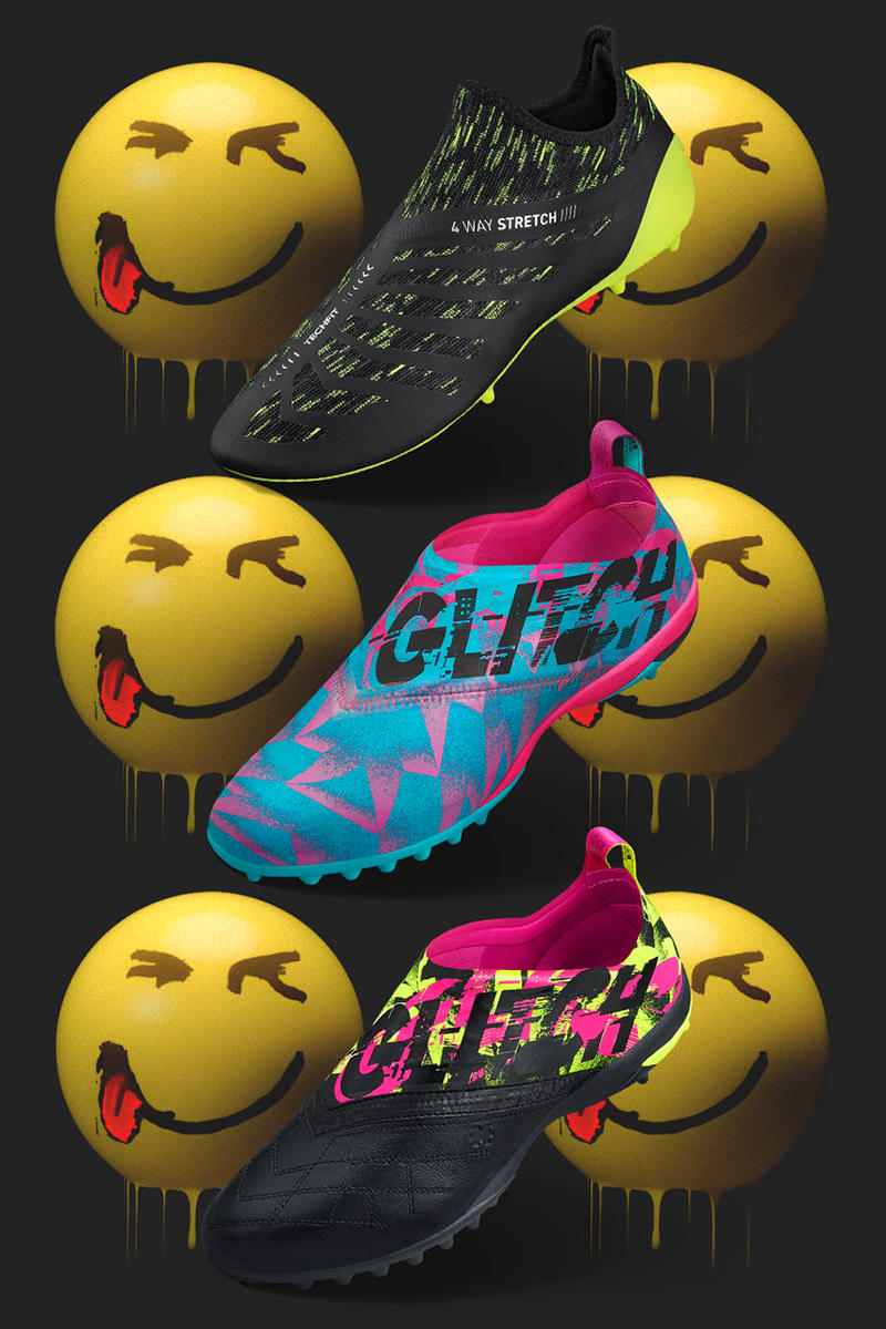 "adidas Football ""Glitch Mad Pack"" Release Details Football Boots Shoes Trainers Kicks Sneakers Footwear"