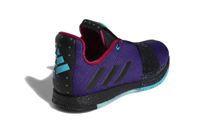 adidas harden vol 3 drew league college purple black hi res aqua