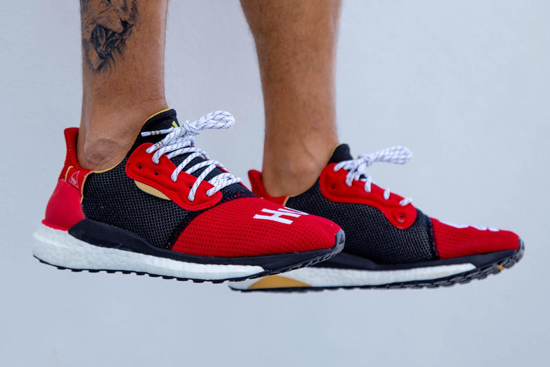 low cost 49adc c12a7 Pharrell x adidas Solar Hu Glide Chinese New Year