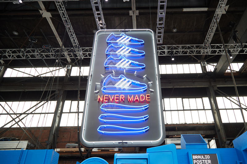 "adidas Originals ""Never Made"" HYPEFEST Activation  sneakers brooklyn shoes retro"