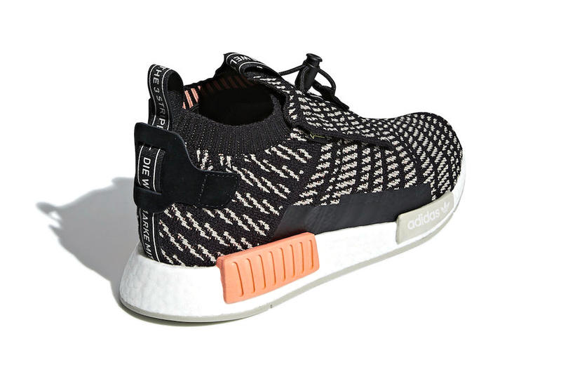 adidas NMD TS1 GORE-TEX Oreo black white fall 2018 release sneakers